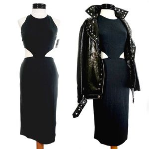"Stone Row ""Chic Ville"" Cutout Dress"